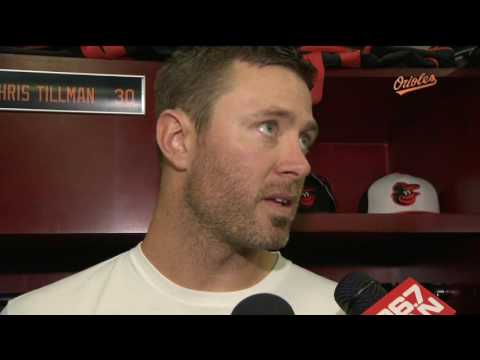 Chris Tillman on outing vs. Blue Jays