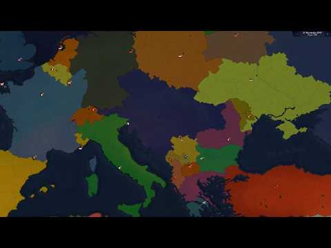 Australia forms Australia Hungary   Age of Civilizations 2 timelapse