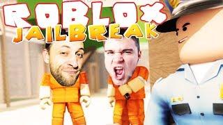 ROBLOX [#26] - UCIECZKA Z WIĘZIENIA | Jailbreak [#1] (With: Diabeuu, Hutenr, Kubson)