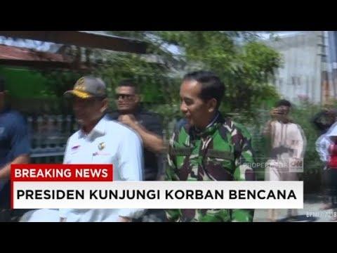 Kunjungan Presiden Jokowi Ke Korban Bencana Gempa & Tsunami Sulteng