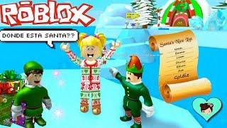 Roblox Bebe Goldie entkommt santa es Workshop! Obby Christmas