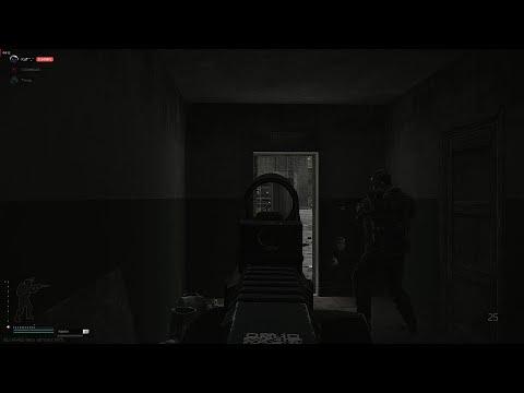 Десантник Степочкин и его со взводный. Карта Резерв- Escape from Tarkov