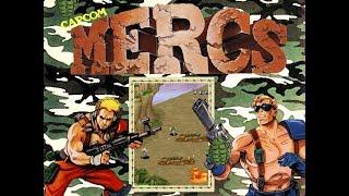 Capcom Classics Collection Vol. 1 (PlayStation 2) - Mercs Full Game