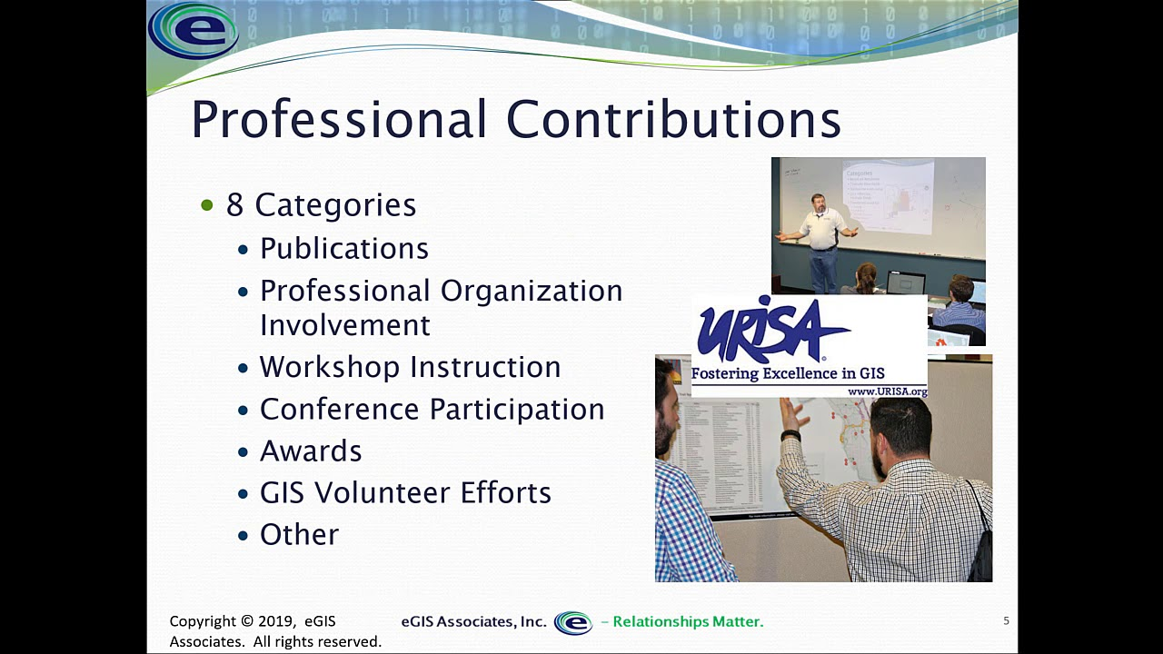 Gisp Certification Contribution Points Youtube