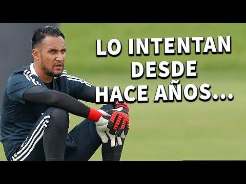 La Verdadera Razón por la que Real Madrid quiere deshacerse de Keylor Navas