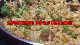 #GobiRice Gobi Fried Rice Recipe | Restaurant Style Gobi Fried Rice Recipe |