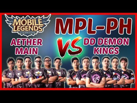 The TP King! Aether Main vs DD Demon Kings | Game2 MPL PH Week5 Day1 - Mobile Legends