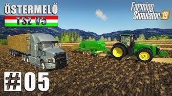 Őstermelő TSZ V5 | FS19 Timelapse #05 | Farming Simulator 19