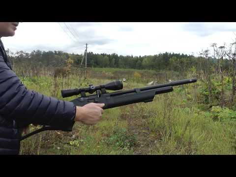 PCP Hatsan FLASH QE к.6,35 - Пристрелка 50м