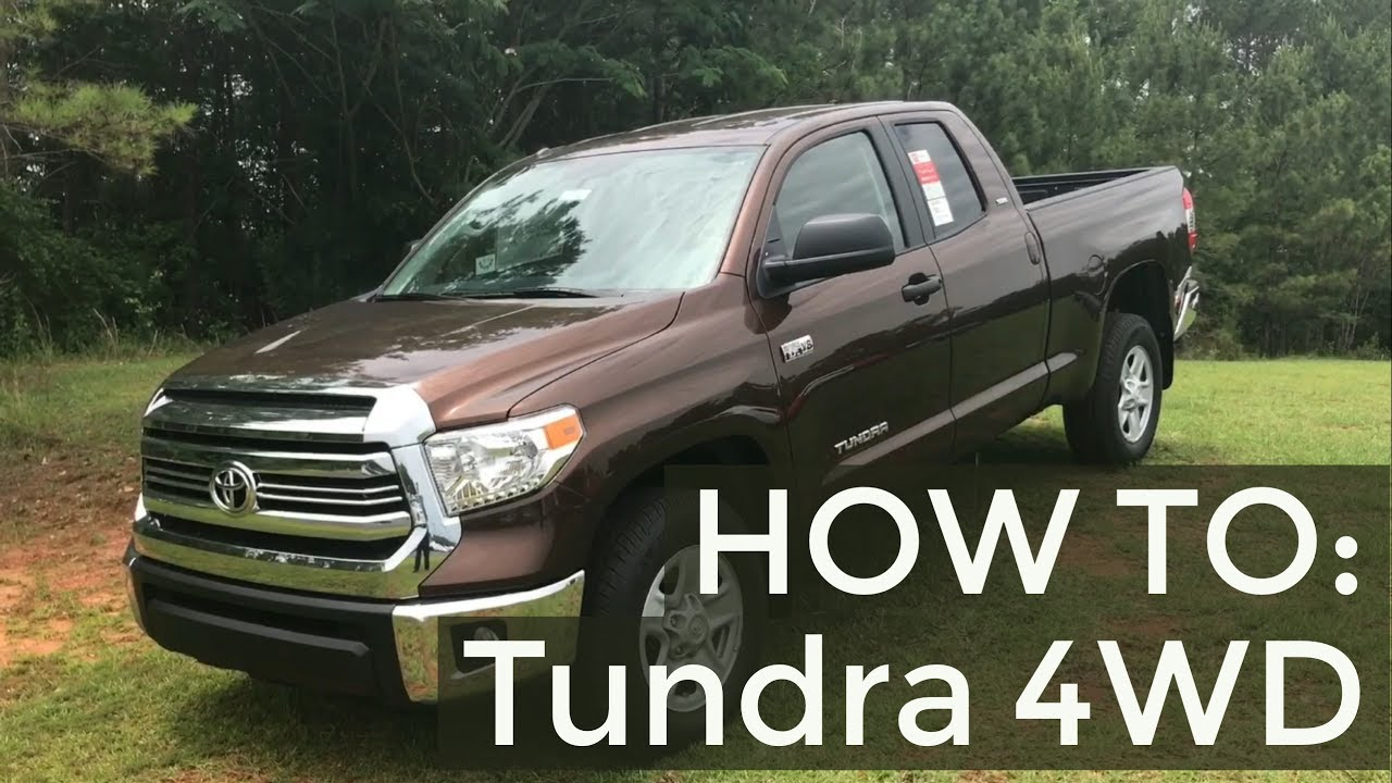 How To Shift A Toyota Tundra Into Four Wheel Drive 4wd With Jonathan Sewell Sells Youtube