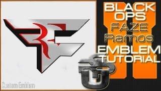 Faze Ramos Logo: Call Of Duty Black Ops 2 Emblem Tutorial