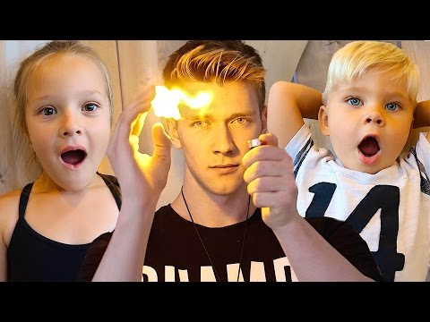 TODDLERS REACT TO MAGIC! (w/ Collins Key!)