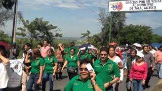 Protesta de maestros de tala Jalisco México