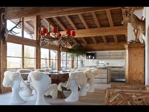 Кухни в стиле Шале (дизайн интерьера)