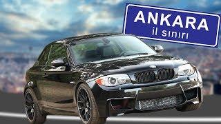 BMW M1 İLE ANKARA YOLLARINDAYIZ