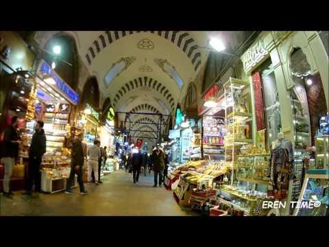 İstanbul - Eminönü - Tahtakale Kısa Gezimiz VLOG ( EKEN H9 CAM )