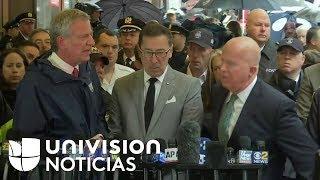 Autoridades de Nueva York entregan detalles de caída de helicóptero sobre edificio.