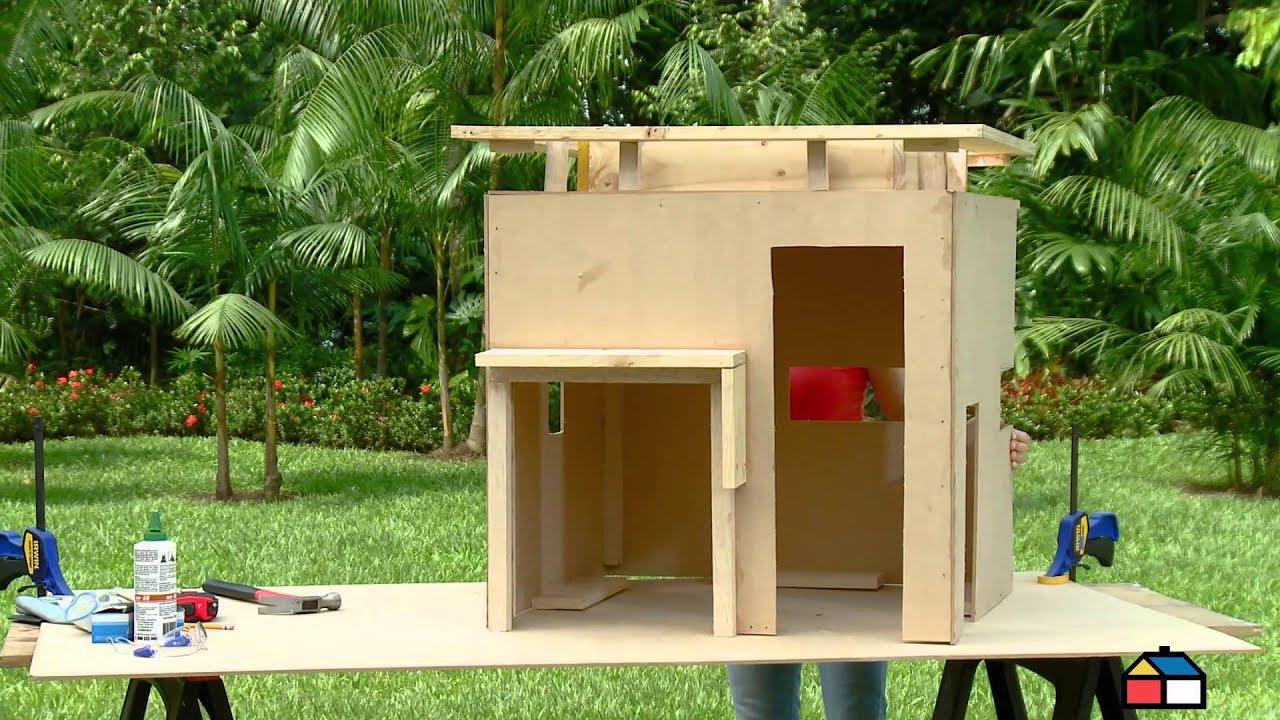 Construye la casa de tu perro youtube - Como hacer una casa de perro ...