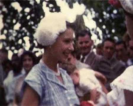 Queen Elizabeth II in the Cocos Islands