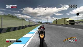 Moto GP 08 PC - Gameplay