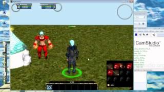 Projet de MMORPG (Unity) Apercu #1