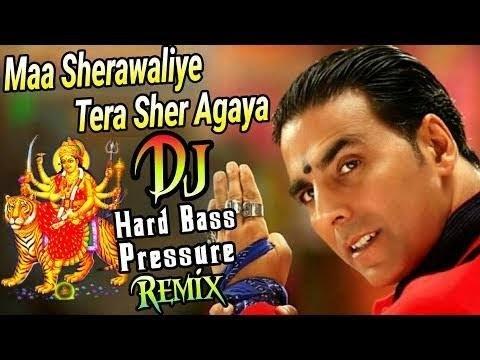 Maa Sharawaliye Tera Sher Aa Gya No Voice Tag Dj Kamlesh Bhadhar Remix 8459244507