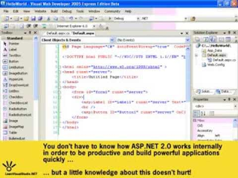 ASP.NET Tutorial for beginners.