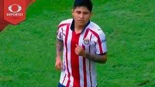 Gol de Javier López | Chivas 1 - 0 Alebrijes | Copa MX J4 | Televisa Deportes