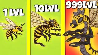 Фото ЭВОЛЮЦИЯ ЗЛЫХ ПЧЁЛ, МАКСИМАЛЬНЫЙ УРОВЕНЬ! | Angry Bee Evolution