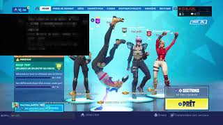 LIVE FORTNITE PART PERSO FR PS4 CODE PP: imvito