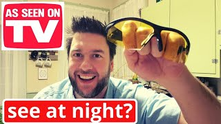 Tac glasses: Night Vision - as seen on TV product review