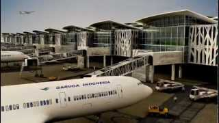 Sepinggan International Airport, the project