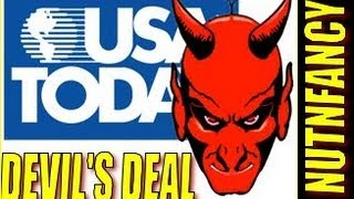"""Gun Owners Side With Devil says USA Today"" by Nutnfancy"