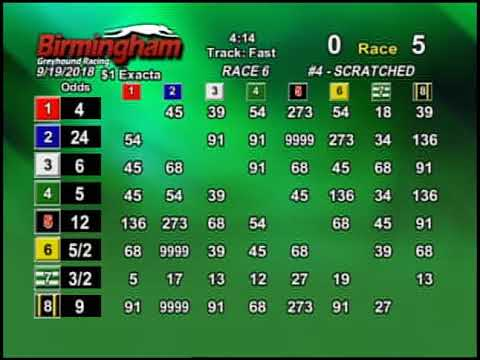 09/19/18 Afternoon Race #5