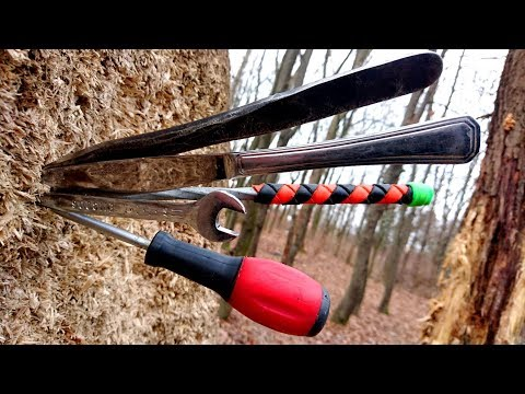 BEST Beginner Throwing Knives/Tools (Part 1 of 3) No Budget