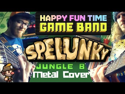 Spelunky Jungle B | Metal Cover