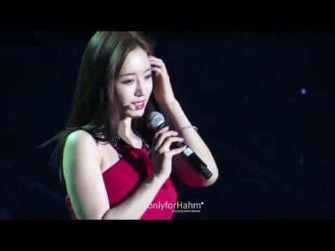[HD] 151219 Eunjung - Goodbye (Chinese) T-ara Guangzhou concert