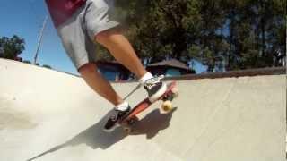 Penny Board 360 Bowl Spin [Penny Skateboard Trick]