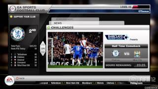 FIFA 12-Menu Screens XBOX 360-PS3 (1080p HD)