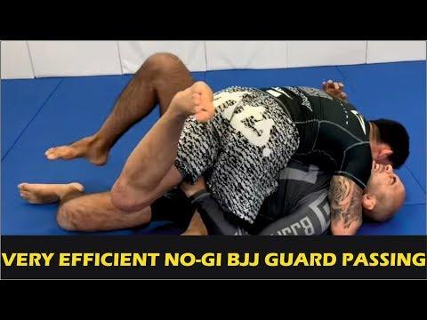 Very Efficient No-Gi BJJ Guard Passing by Matheus Diniz