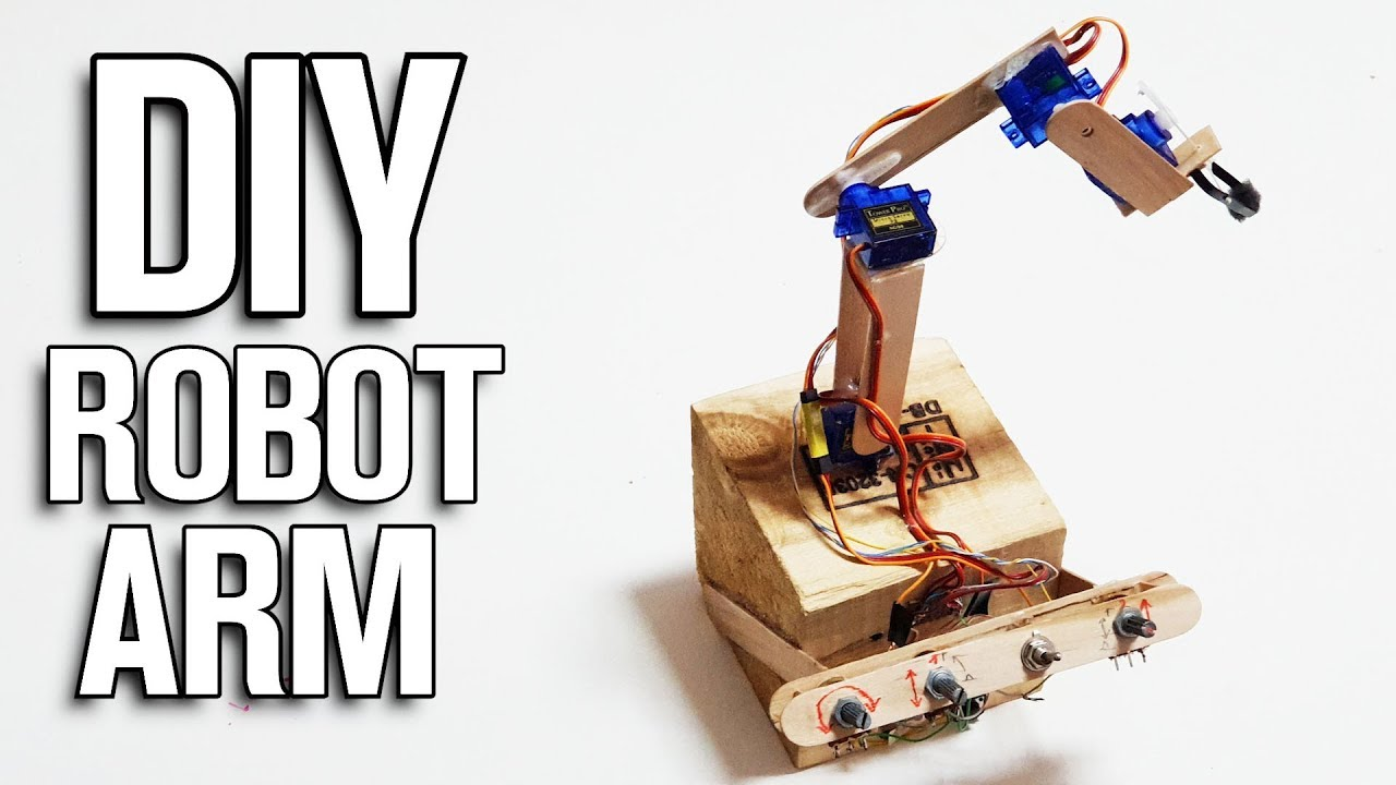 How To Make Arduino Robot Arm By Pcbway