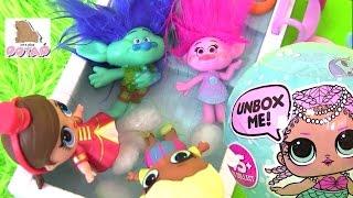 Тролли Trolls Куклы #Пупсики! LOL & TROLLS POOL PARTY Сюрприз Игрушки |Мультики