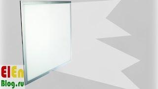 LED светильники 25 и 43 Вт Проверка и тест(Принесли две светодиодные LED панели и попросили высказаться что мы о них думаем. Пришлось подручными средст..., 2015-09-11T14:26:38.000Z)