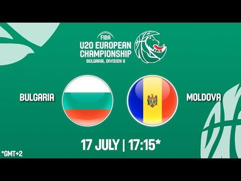 LIVE 🔴 - Bulgaria v Moldova - FIBA U20 European Championship Division B 2018