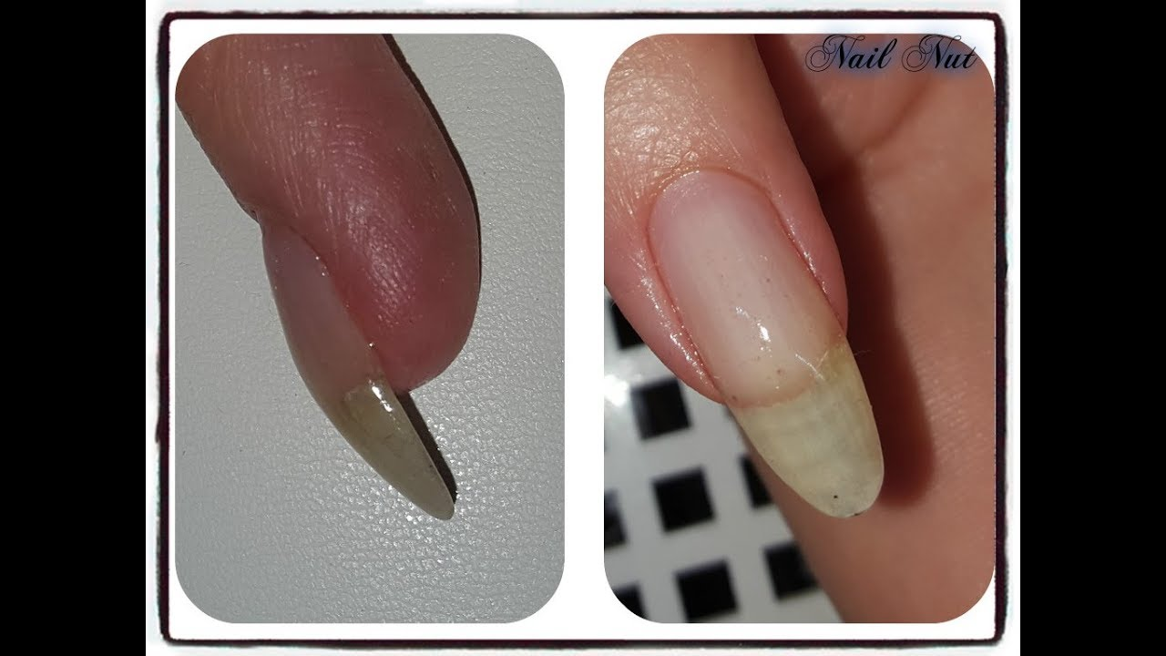 Fix Hairline Cracks in Gel Nails Fast! - YouTube