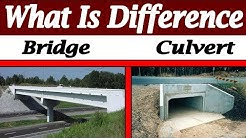 Difference Between Bridge And Culvert - Bridge And Culvert Explained In Details In Urdu/Hindi