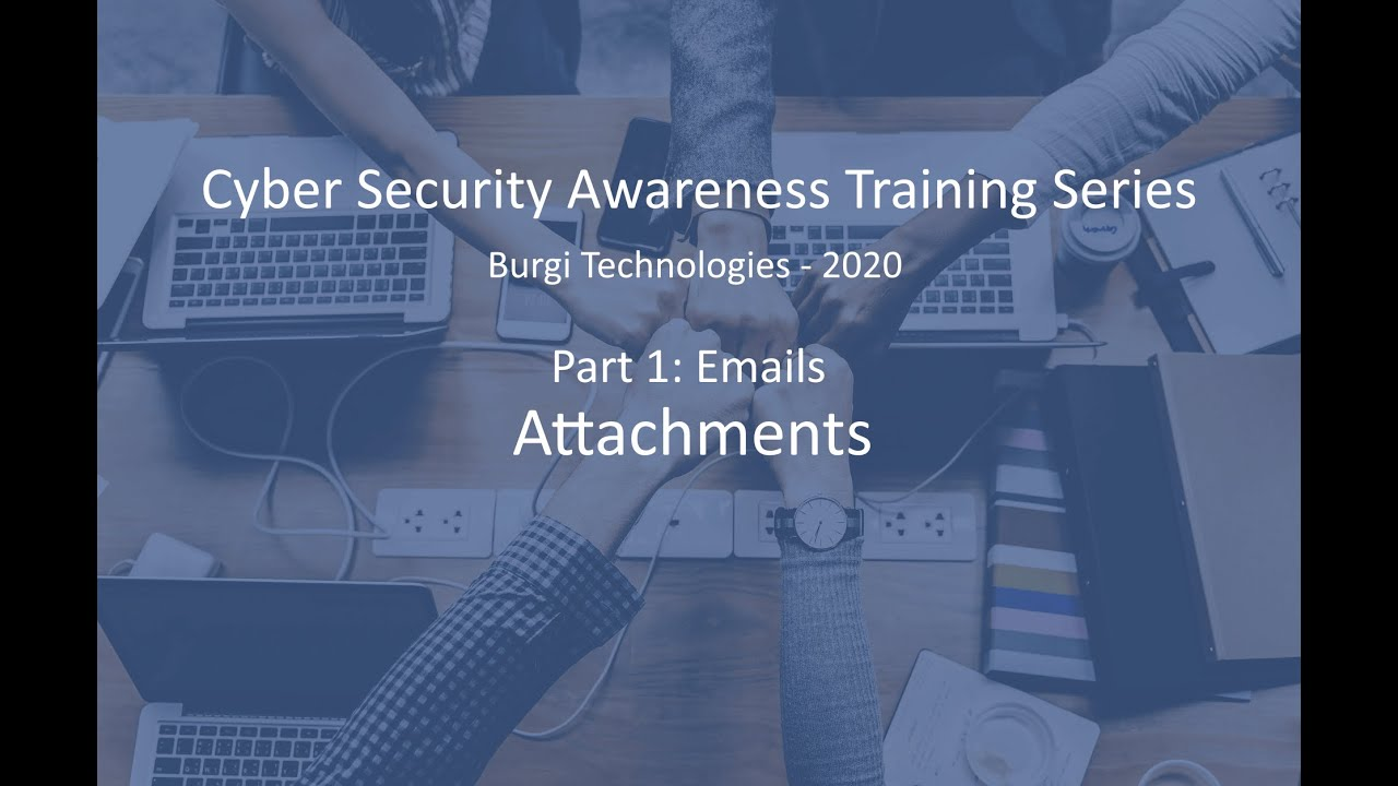 Cyber Security Awareness Training Series