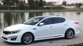 2015 Kia Optima Start Up and Review 2.4 L 4 Cylinder