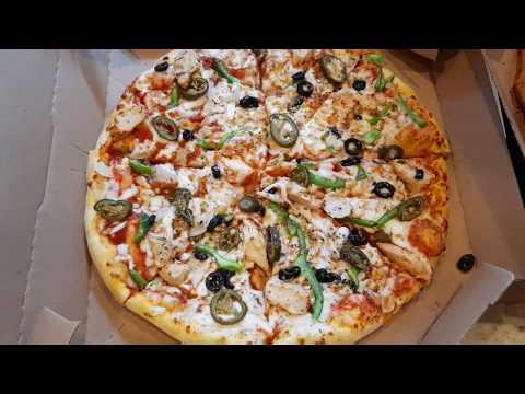 صورة  طريقة عمل البيتزا طريقة عمل بيتزا دومينوز the steps how to cooking Domenoz pizza طريقة عمل البيتزا من يوتيوب