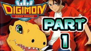 Digimon Data Squad All Cutscenes | Game Movie Part 1 (PS2)